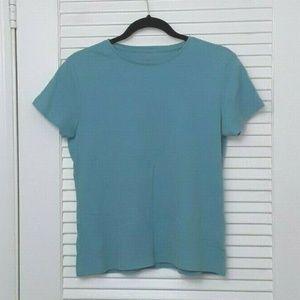 🌹 Coldwater Creek Top T-Shirt Tee Light Blue
